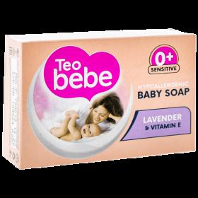 Teo Bebe Lavender săpun solid pentru bebeluși - 75gr