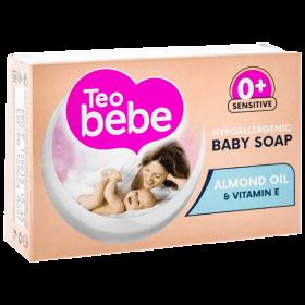 Teo Bebe Almond săpun solid pentru bebeluși - 75g