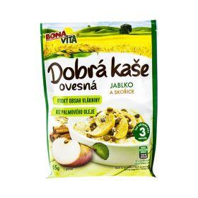 Terci de ovăz Bona Vita cu mere și scorțisoare - 65gr