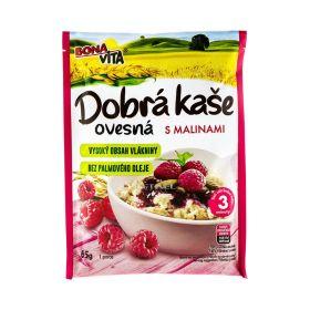 Terci de ovăz Bona Vita cu zmeură și vanilie - 65gr