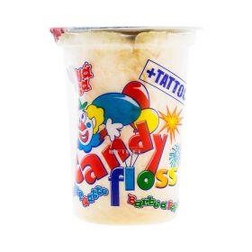 Vată de zahăr Candy Floss Portocale + Tattoo - 20gr