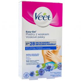 Veet-wax strips 16buc sub brate