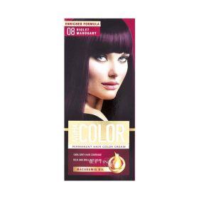 Vopsea de păr Aroma Color 08 Violet Mahon - 90ml