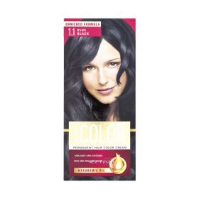Vopsea de păr Aroma Color 1.1 Negru Albăstrui - 90ml