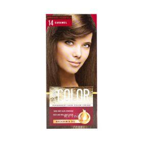 Vopsea de păr Aroma Color 14 Caramel - 90ml