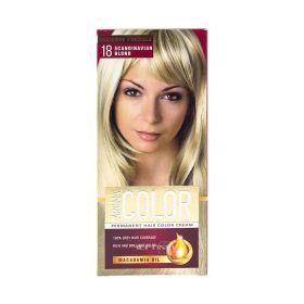 Vopsea de păr Aroma Color 18 Blondă Scandinava - 90ml