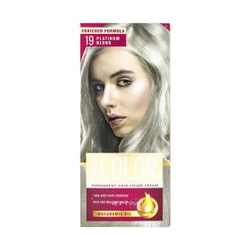 Vopsea de păr Aroma Color 19 Blond Platinum - 90ml