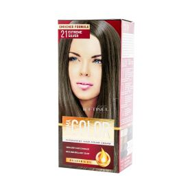 Vopsea de păr Aroma Color 21 Extreme Silver - 90ml