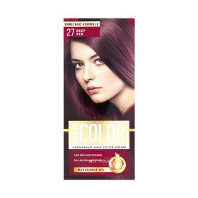 Vopsea de păr Aroma Color 27 Roșcat intens - 90ml