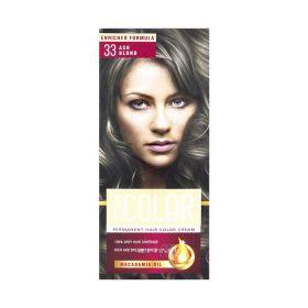 Vopsea de păr Aroma Color 33 Blond Cenușiu - 90ml