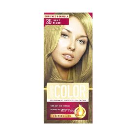 Vopsea de păr Aroma Color 35 Blond Deschis - 90ml