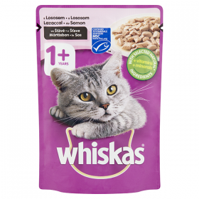 Whiskas-plic 1+ somon 100g