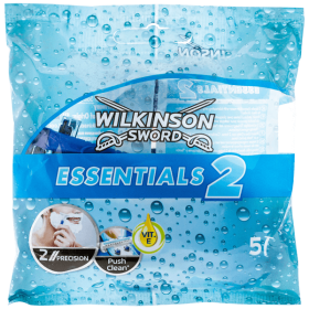 Wilkinson Sword Essentials 2 aparat de ras de unică folosință - 5buc