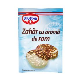 Zahăr cu aromă de rom Dr. Oetker - 8gr